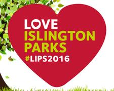 Love Islington Parks 2016 logo