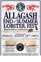 End of Summer Lobster Fest featuring Allagash Brewery