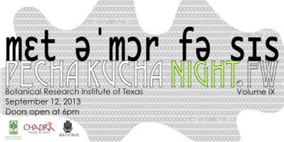 PechaKucha Night in Fort Worth Vol. IX