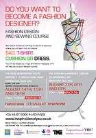Inspirational YOU - Summer Fashion design course