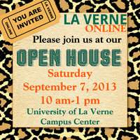 La Verne Online Open House: Fall 2013