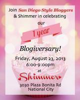 San Diego Style Bloggers 1 Yr. Anniversary Meetup