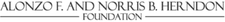 The Alonzo F. and Norris B. Herndon Foundation  logo