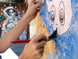 Grace Art Events- The Paste-up Workshop with artist...