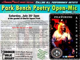 Park Bench Open-mic Featuring Allen Gogarty