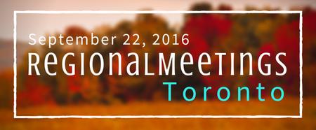 Toronto Fall Regional Meeting