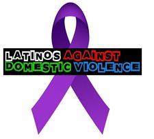Latinos Against Domestic Violence logo