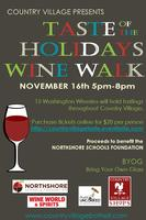 Taste of the Holidays Wine Walk benefiting Northshore S...
