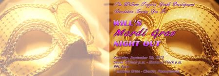 Will's Mardi Gras Night presented by the Halloran...