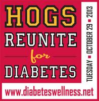 HOGS REUNITE FOR DIABETES