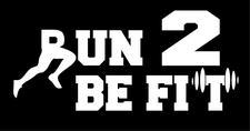 Run 2 Be Fit logo