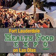 Fort Lauderdale Health Food Expo on Las Olas
