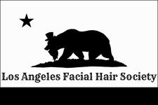 Los Angeles Facial Hair Society  logo