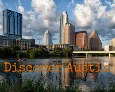 Discover Austin logo