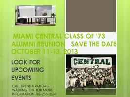 Miami Central Reunion Class of '73