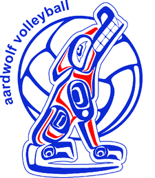 Aardwolf and Seewolf Volleyball logo