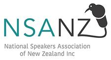 National Speakers Association of New Zealand logo