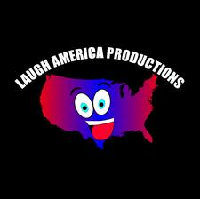 LAUGH AMERICA PRODUCTIONS logo