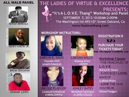 """It's A L.O.V.E. Thang"" Workshop/Panel"