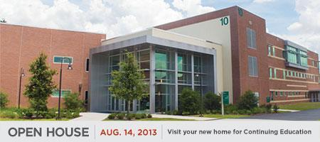 Valencia Continuing Education Open House in Building 10