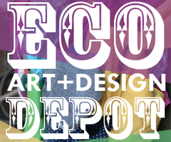 Eco Art + Design Depot: Fabric Flowers Workshop