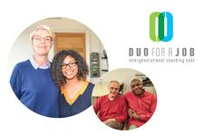 DUO for a JOB  logo