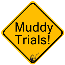 Muddy Trials at Craufurdland Estate, Kilmarnock, ayrshire logo