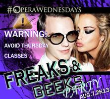 FREAKS & GEEKS PARTY | 18+  | 8.7.13