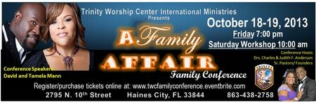 A Family Affair With David & Tamela Mann