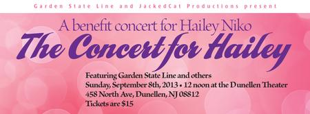 The Concert for Hailey - A benefit show for Hailey Niko