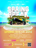 SPRING BREAK TRIP | Ames, IA to Panama City Beach, FL | 2014