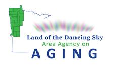 Land of the Dancing Sky Area Agency on Aging logo
