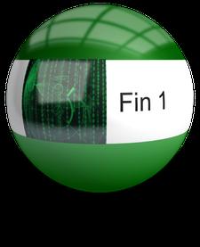 FIN1 www.fin1-compliance.com  logo