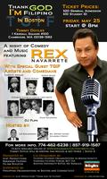 Rex Navarette, A night of Comedy and Music