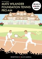 The Inaugural Mats Wilander Foundation Tennis Pro-Am...