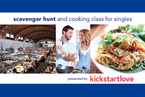 Scavenger Hunt and Cooking Class for Singles (Ages...