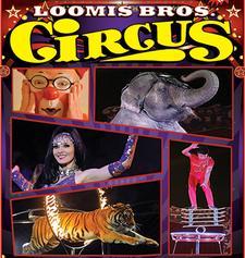 Loomis Bros. Circus logo