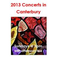 2013 Concerts in Canterbury