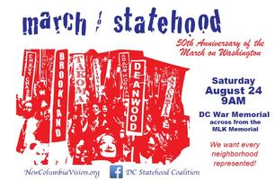 Ward 5 for Statehood -- 50th Anniversary of the March...