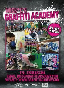Miss*C's Graffiti Academy logo