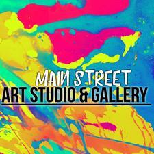 Main Street Art Studio & Gallery  logo