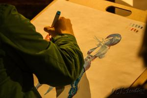 "Valley Drink N Draw: ""FORTUNE TELLERS"" @The Other Door"