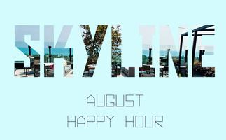YOCA August happy hour - J. Parker Rooftop Bar