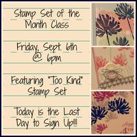 Stamp Set of the Month-Too Kind