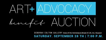Art +Advocacy Benefit Auction
