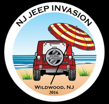 New Jersey Jeep Invasion  logo