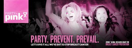 """Zumba® with the Stars"" Party in Pink Campaign for the..."