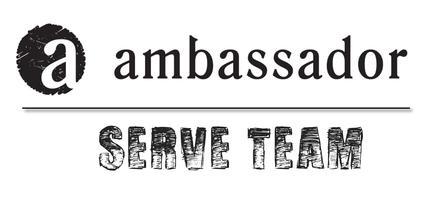 July Ambassador Serve Team