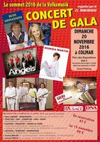 Concert Gala de Colmar Volksmusik le Dimanche 20...