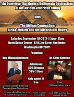 Double Lecture featuring Bro. Michael Imhotep and Dr....
